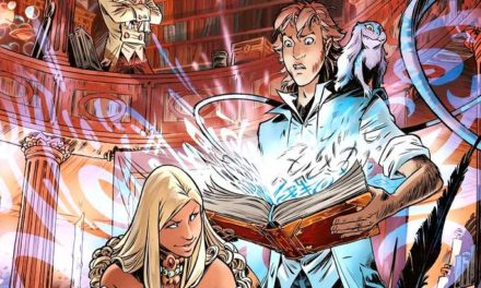 """Sortie BD : Danthrakon (T1), """"Le grimoire glouton"""", fantasy, aventure et vieux grimoire au menu !"""