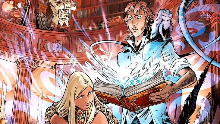 Sortie Bd Danthrakon T1 Le Grimoire Glouton Fantasy