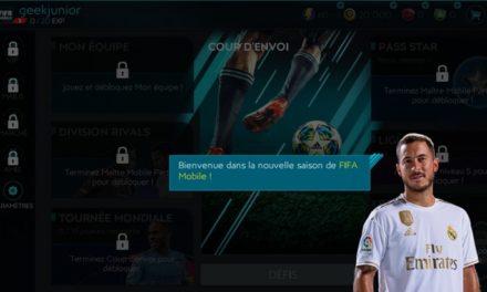FIFA mobile est de retour ! A toi de jouer avec la meilleure simulation de foot !