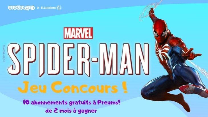 Jeu Concours BD : gagne 2 mois d'abonnement gratuits à Preums! et découvre le dernier Spider-Man