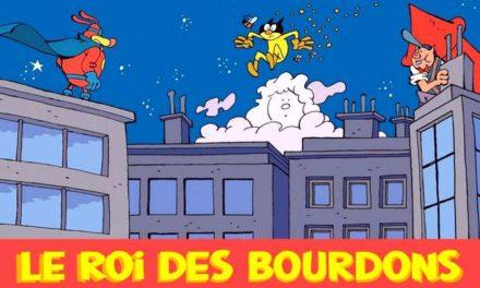 La BD du week-end #96 : «Le Roi des Bourdons» le super-héros qui se rêvait dessinateur