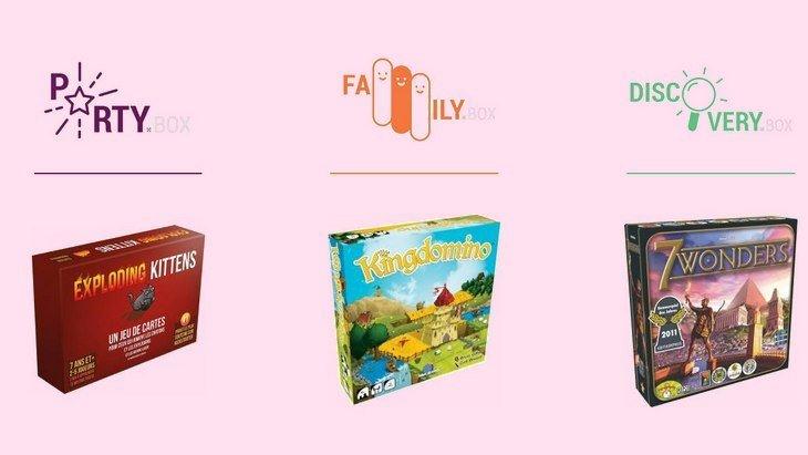 Ludum.fr : les jeux de société ont aussi leur box !