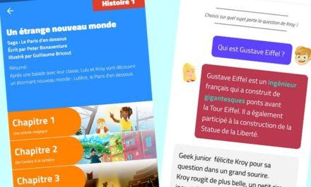 Lulu & Kroy, une application innovante de littérature jeunesse pour les 8-12 ans