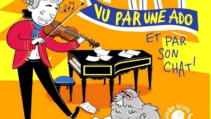 « Mozart, vu par une ado », la bio amusante de Wolfie