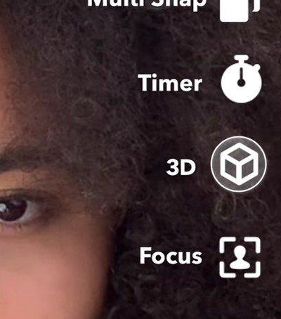 Snapchat 3D