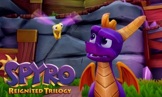 Spyro Reignited Trilogy : les 3 jeux Spyro en HD sur Switch et PC (Steam) !