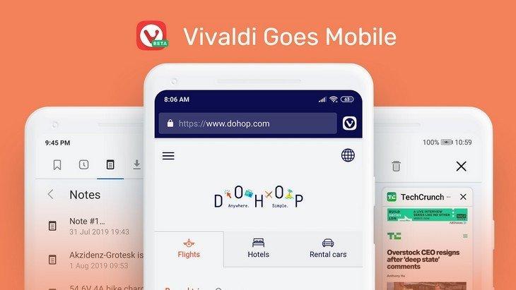 Le navigateur web Vivaldi arrive sur Android. Une alternative à Chrome pour ton mobile !