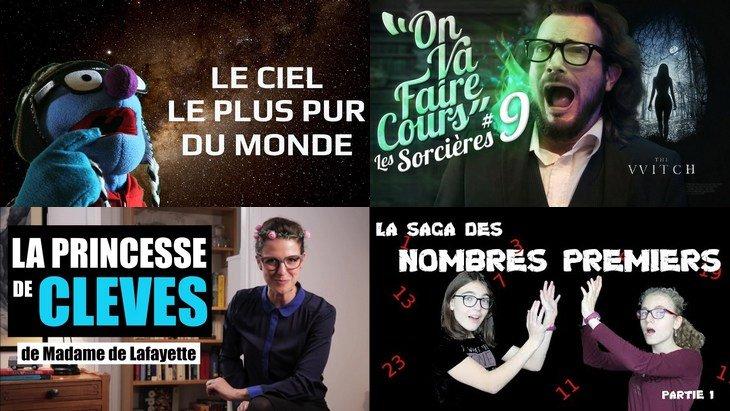 Apprendre avec YouTube #150 : Miss Book, Scienticfiz, Fabien Campaner, Monsieur Phi, Biosfear