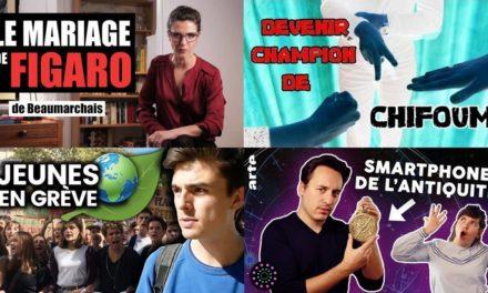 Apprendre avec YouTube #148 : Miss Book, Scienticfiz, Le Vortex, Science étonnante…
