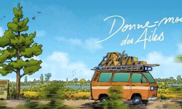 «Donne-moi des ailes», la BD adaptée du nouveau film de Nicolas Vanier