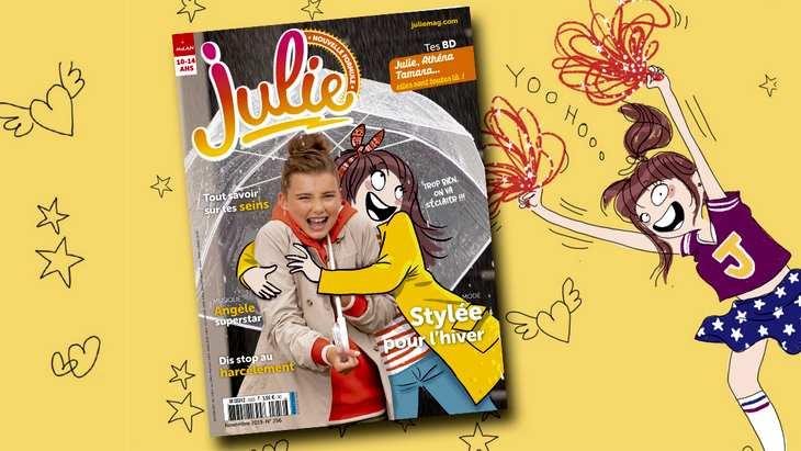 Le magazine «Julie» se refait une beauté