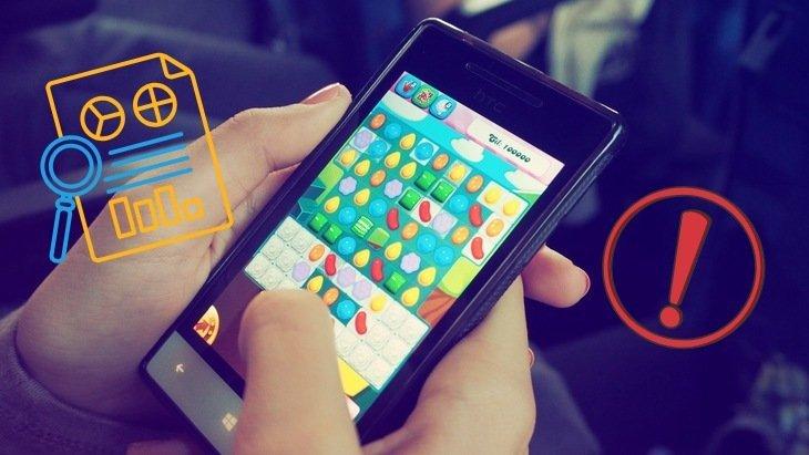 Attention aux jeux mobiles gratuits ! Ils collectent beaucoup de données sur toi !