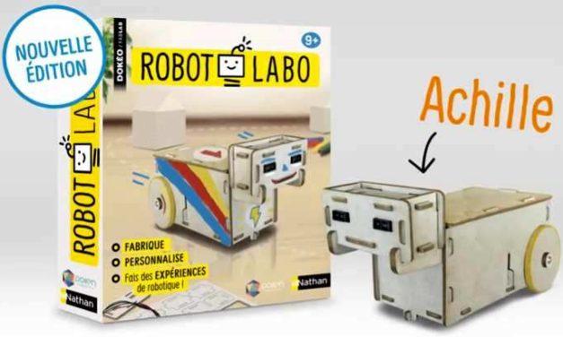 Robot Labo, le coffret pour construire ton propre robot !