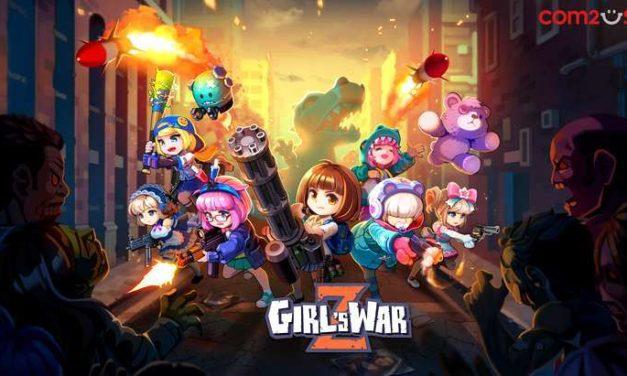 Girl's War Z : un jeu mobile où les zombies tombent à la pelle (Google Play et App Store)