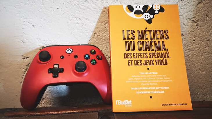 """Orientation post-bac : sortie du guide """"Les métiers du cinéma, des effets spéciaux et des jeux vidéo"""""""
