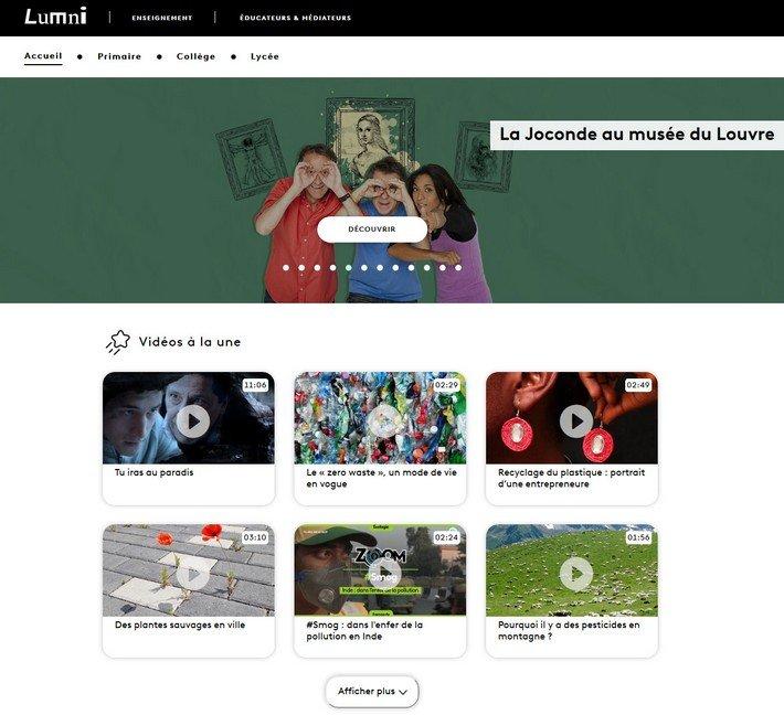 Lumni site web