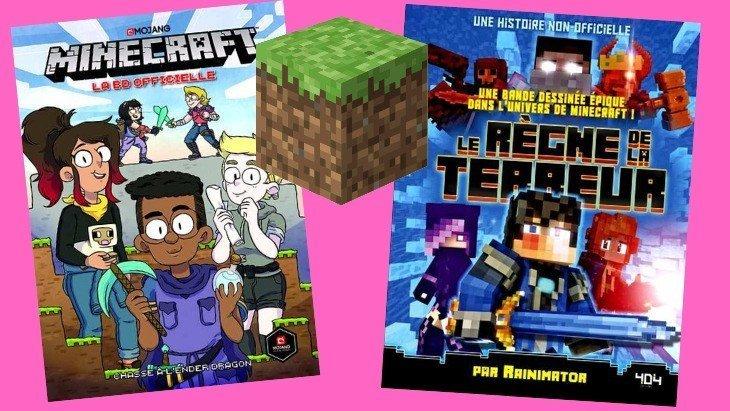 La lecture du jour #9 : deux BD Minecraft pour les fans