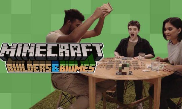 Minecraft, c'est aussi un jeu de plateau !