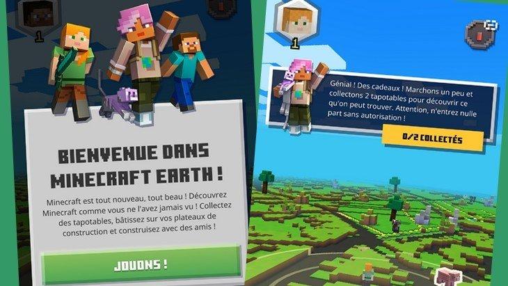 Minecraft Earth disponible en accès anticipé (Google Play, App Store)