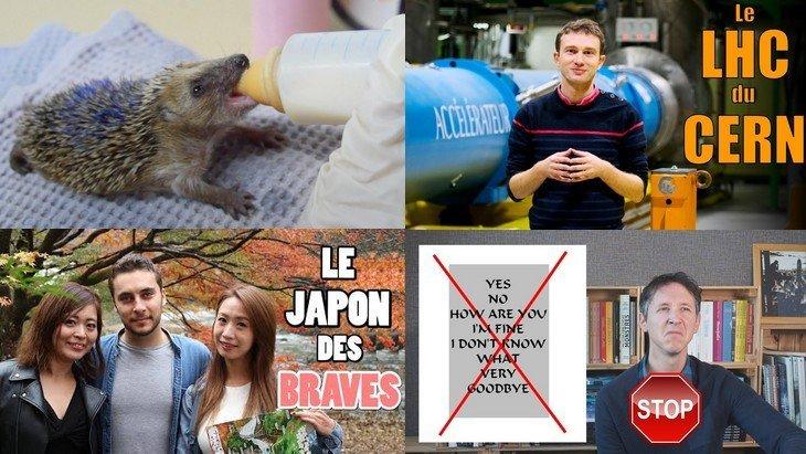 Apprendre avec YouTube #158 : Biosfear, Marie Wild, Les Tutos de Huito, Balade Mentale, e-penser…
