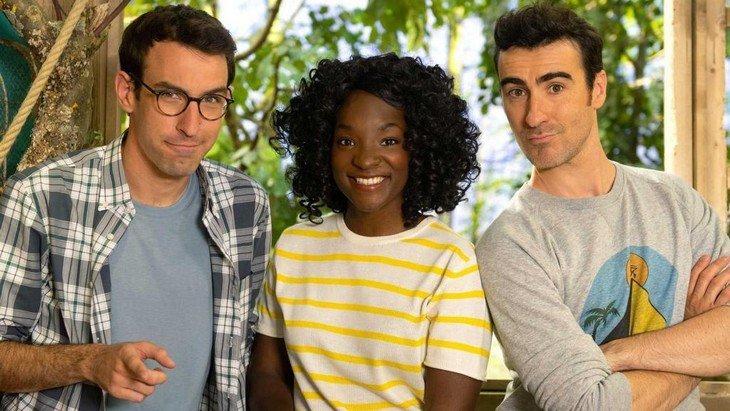 L'émission «C'est Pas Sorcier» est de retour avec Max Bird, Cécile Djunga et Mathieu Duméry (Professeur Feuillage)