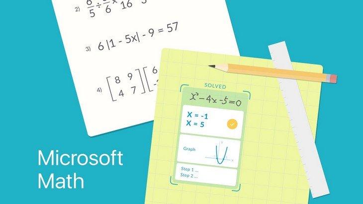 Microsoft Math Solver, une nouvelle application pour t'aider en maths
