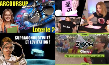 Apprendre avec YouTube #161 : Science Étonnante, Heliox, Mathrix, Lumni, Miss Book, Zeste de Science…