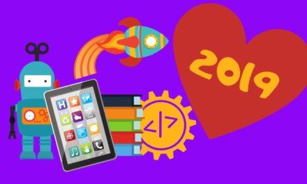 Nos 10 coups de cœur de 2019 (robots, programmation, applications, réseaux sociaux…)