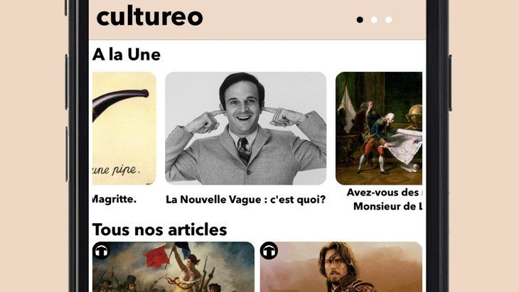 Cultureo, l'application pour booster ta culture générale (iOS)