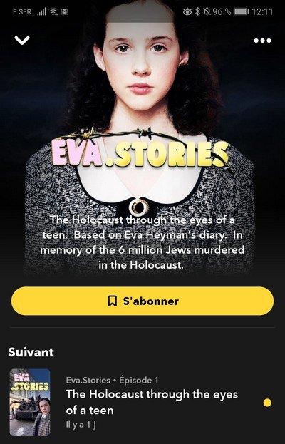 Eva Stories Snapchat