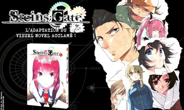 Lecture du jour #28 : Steins;Gate (T1), l'adaptation manga avec de jolis voyages temporels