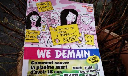 We Demain 100% Ado, le magazine jeunesse pour protéger la planète