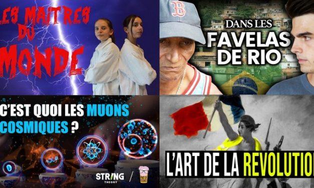 Apprendre avec YouTube #166 : Le Monde de Jamy, Le Vortex, Hugo Décrypte, Clément Viktorovitch…