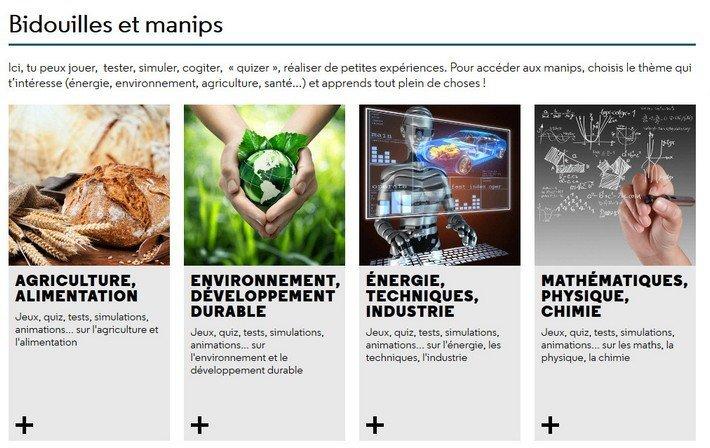 Cité des Sciences - Bidouilles et manips