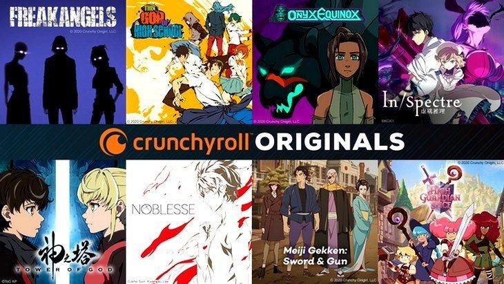Séries animées : Crunchyroll dévoile ses premiers Crunchyroll Originals