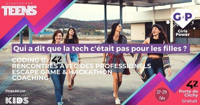 Girls Power startup for kids