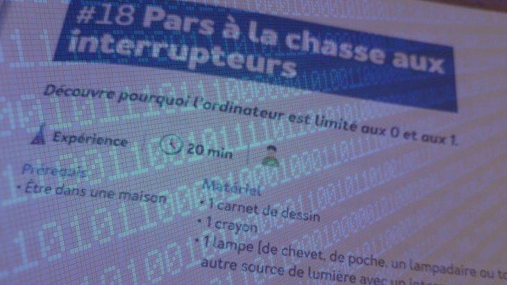 """""""J'explore le monde numérique"""" : pourquoi l'ordinateur est limité aux 0 et aux 1"""