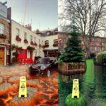 Avec ce nouveau filtre Snapchat, ta rue est envahie par la lave ou l'eau !
