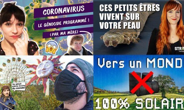 Apprendre avec YouTube #168 : Biosfear, Aude WTFake, Les Bons Profs, Le grand JD, Questions d'Histoire…