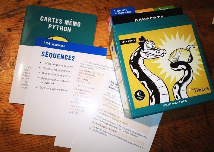 Cartes mémo Python