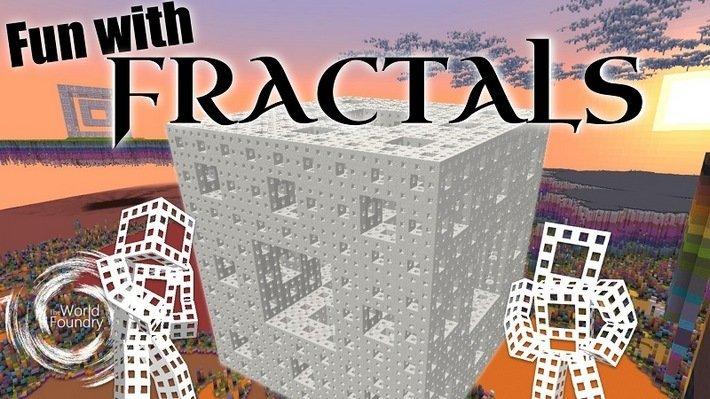 Minecraft fractal 3d