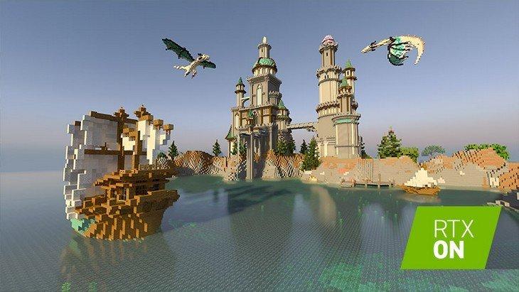 Minecraft RTX NVIDIA