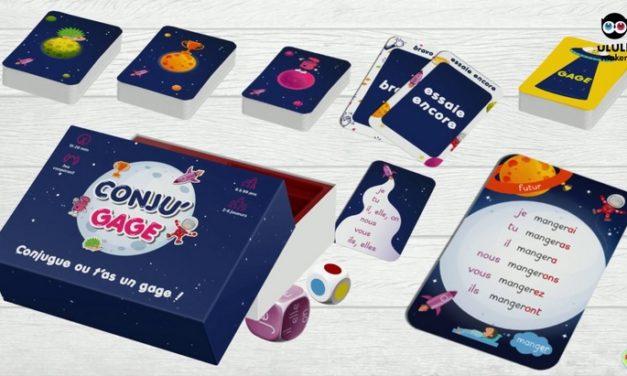 Conju'gage : le premier jeu de conjugaison coopératif en campagne sur Ulule