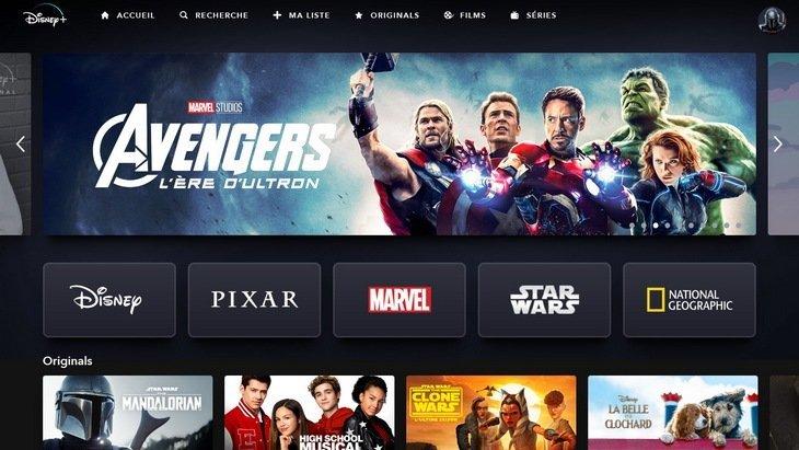 Disney+ disponible !  Comment télécharger l'application, quelles séries et films ?