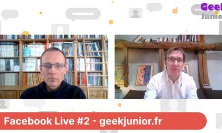 Facebook Live #2 : Quelles solutions en ligne pour organiser le travail scolaire ?