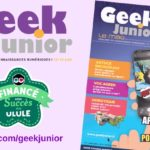 Découvrez les premières pages du magazine Geek Junior !