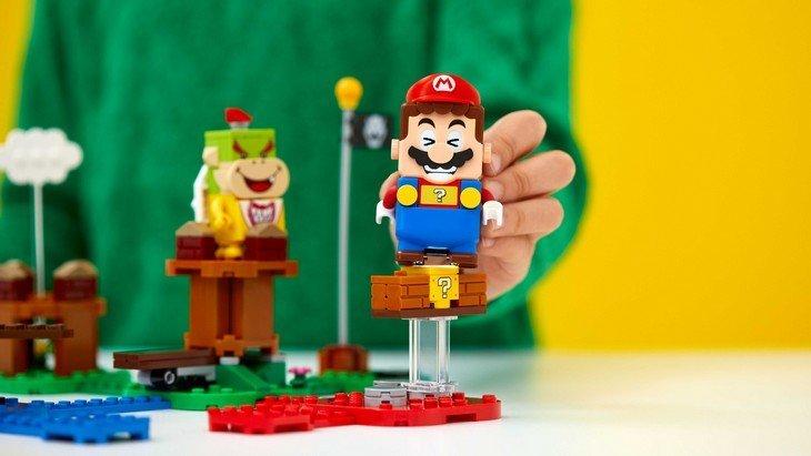 LEGO Super Mario : des jouets interactifs prévus pour l'été !