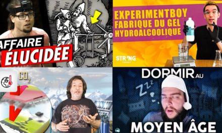 Apprendre avec YouTube #177 : Les Bons Profs, Hugo Lisoir, Nota Bene, ExperimentBoy, Thomas Laurent…