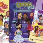 «Geek Club», des romans où les filles s'affirment grâce à la programmation informatique