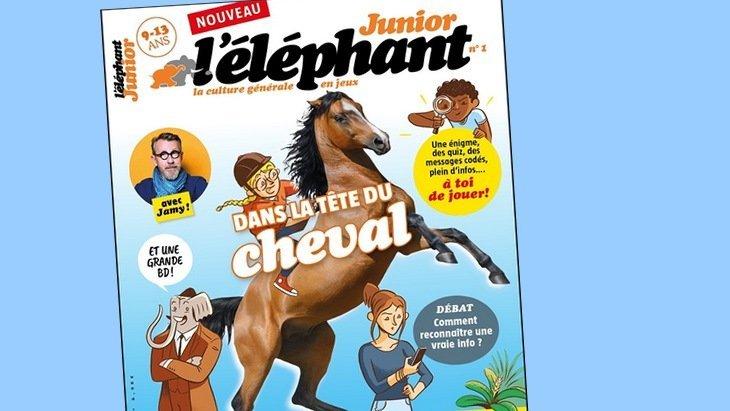 L'éléphant Junior, la revue de culture générale pour les 9-13 ans